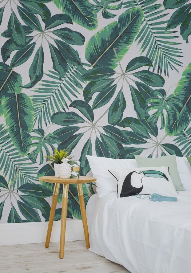 6 tropical murals wallpaper