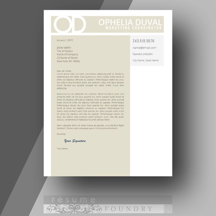 28 best Cover Letter Templates images on Pinterest Cv template - cover letter templates
