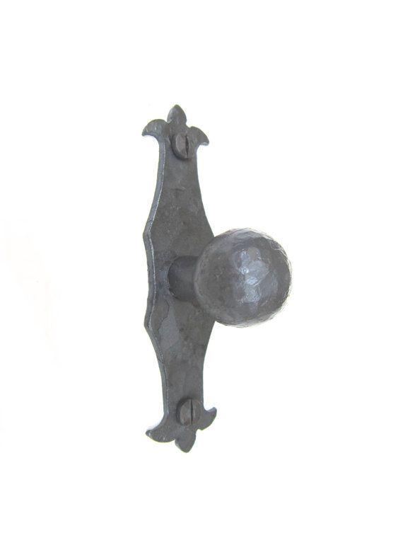 HK6 Spanish revival hardware rustic iron by Bushereironstudio