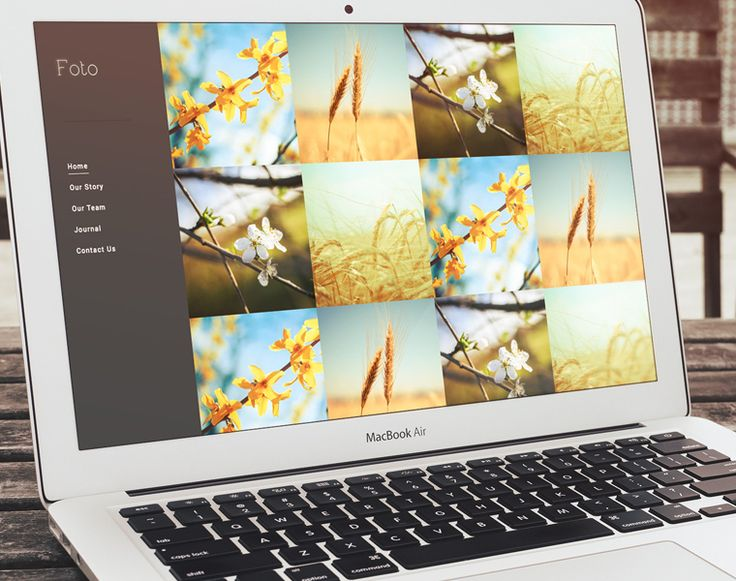 Free HTML5 Photography Theme