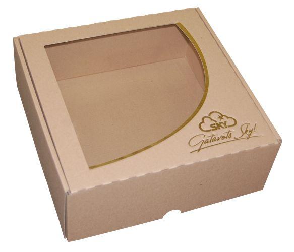 Бумажная упаковка для тортов, кондитерских изделий премиум качества