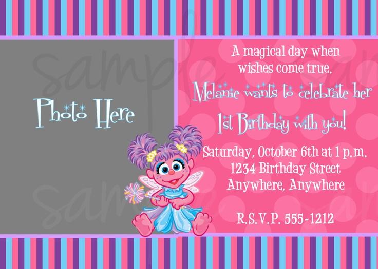 112 best Abby Cadabby images – Abby Cadabby Birthday Invitations