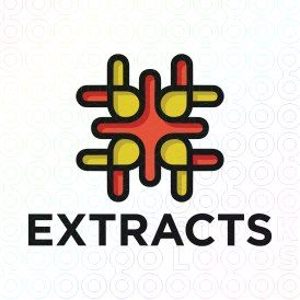 Exclusive Customizable Logo For Sale: Extracts | StockLogos.com https://stocklogos.com/logo/extracts-0