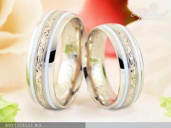 Botticelli no3 – karikagyűrű pár