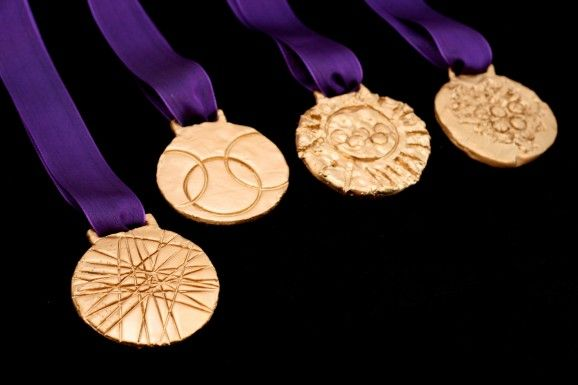 2012 Olympic Gold Medals Tutorial #olympics #goldmedal
