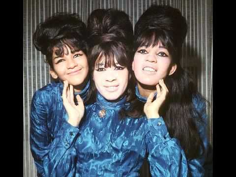 """The Ronettes - Walking In The Rain - 1964  ..  In November 1964, the Ronettes released """"Walking In the Rain"""" (Philles 123), their most dramatic song to date. The Mann/Weil/Spector written ballad reached number twenty three and won a Grammy for Best Sound Effects, the only Grammy Spector ever received."""