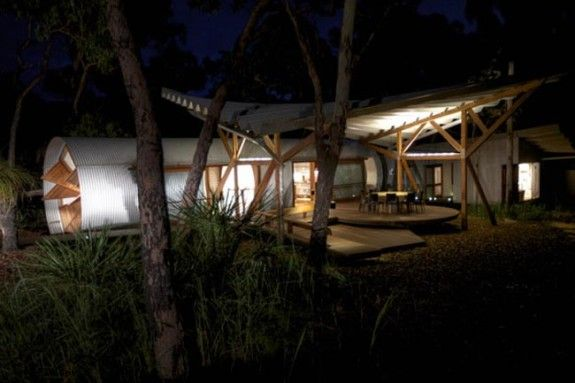 Prefab Summer Home Exterior-the Drew House by Anthill Constructions