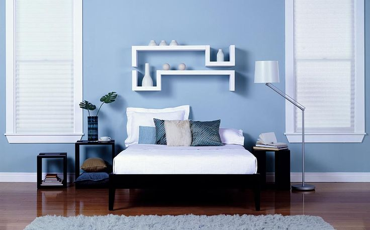 17 best images about family quincy on pinterest girl - Blue bedroom paint ideas ...