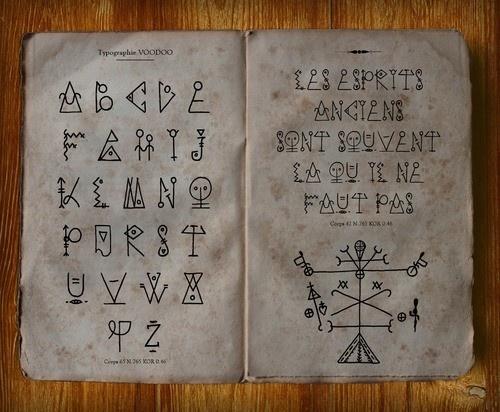 66 best whodoo voodoo images on pinterest magic spells magick and voodoo typography fandeluxe Image collections