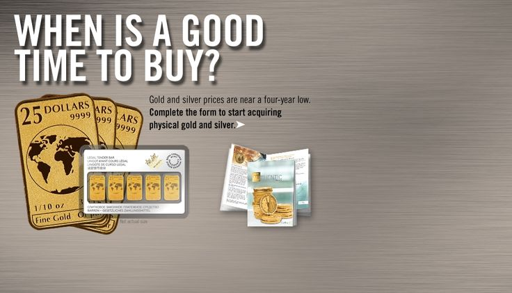 Buy Gold and Silver Coins, Bullion and Bars at Goldline