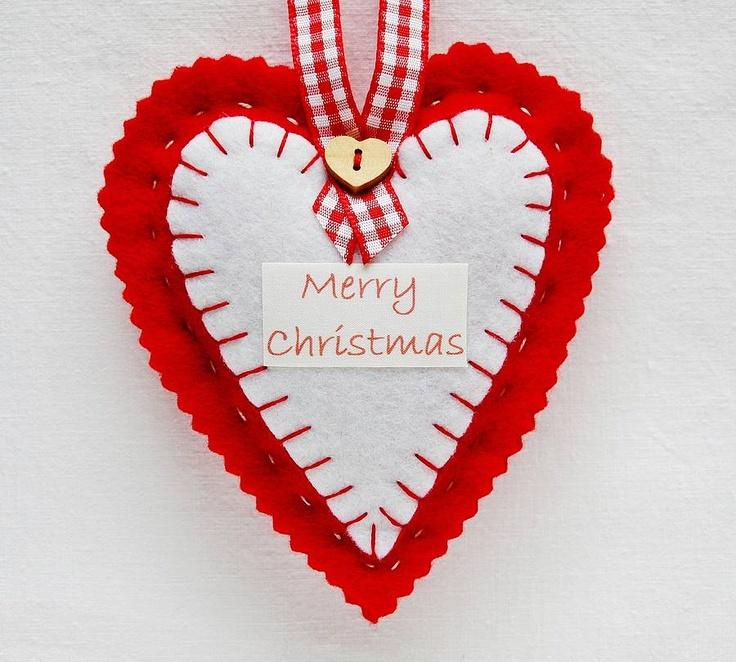 Heart Xmas Decorations