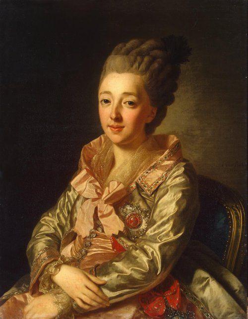 Grand Duchess Natalia Alexeievna of Russia - 1776 portrait by Alexander Roslin.