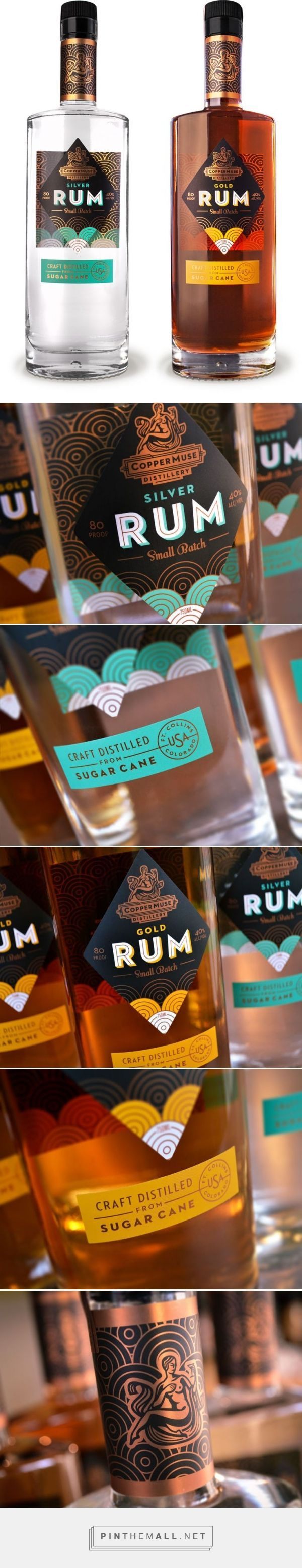 CopperMuse Distillery Rum by Emrich Office