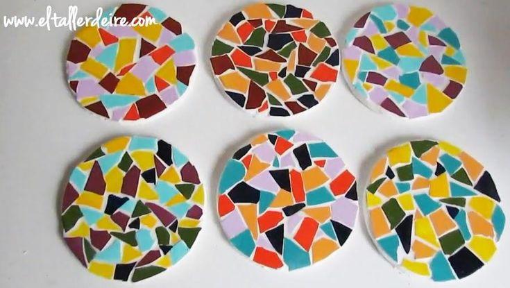 Cómo hacer posavasos reutilizando azulejos