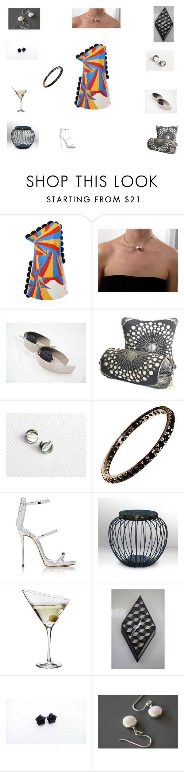 Jewelry For Her by einder on Polyvore featuring moda, Victoria, Victoria Beckham, Giuseppe Zanotti and Eva Solo