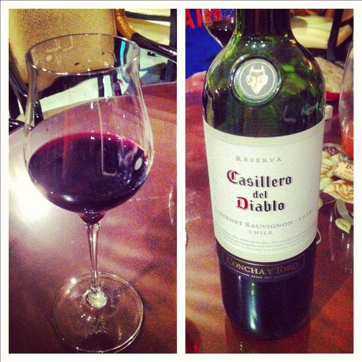 Casillero del Diablo, Cabernet Sauvignon, 2005 is the best!