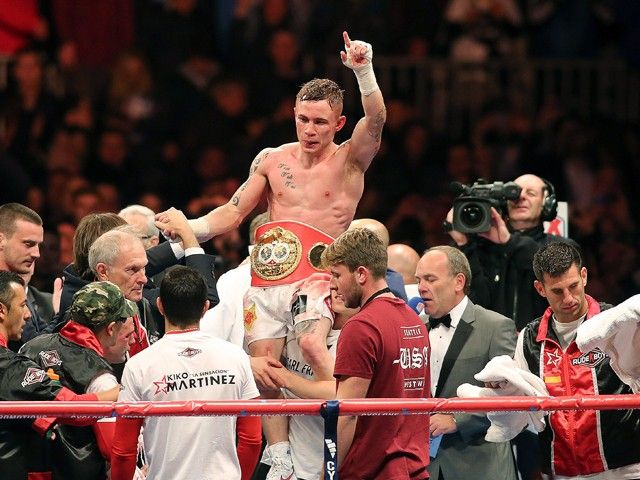 Result: Carl Frampton beats Leo Santa Cruz to win WBA featherweight title