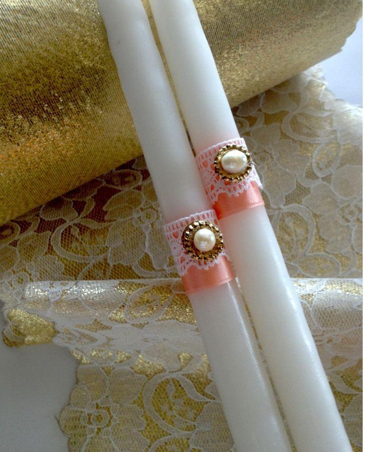 Wedding candle orthodox wedding.