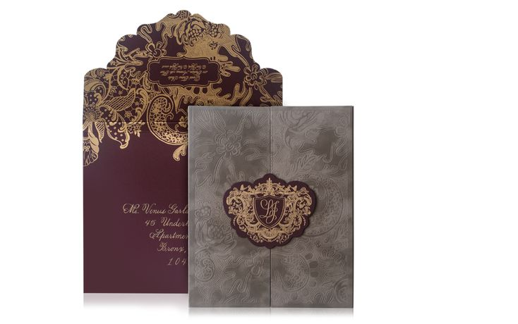 Plaza Hotel Luxury Wedding Invitation Suite
