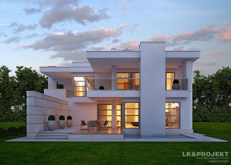 Projekty domów LK&Projekt LK&875 wizualizacja 1