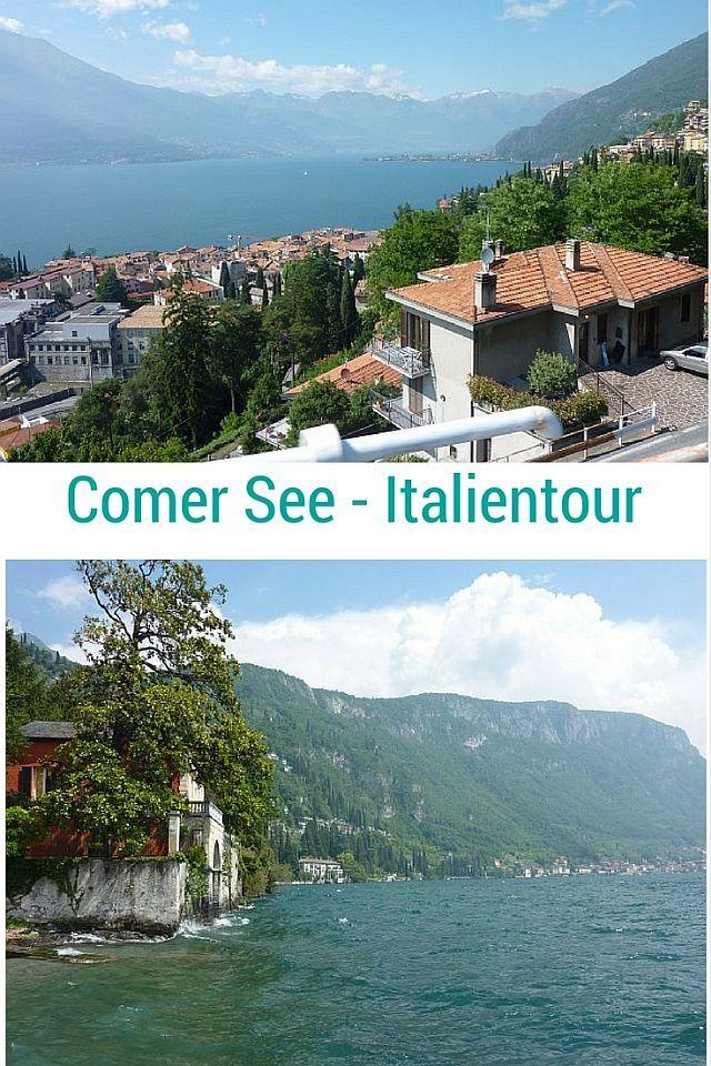 Ein Reisebericht mit Bildern Italien - Comer See, Lago di Como, Varenna und in die Berge - Dreisprachenspitze Stilfserjoch