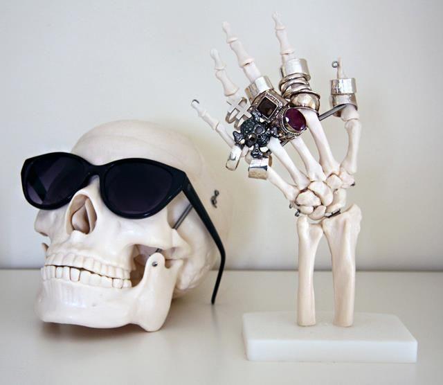 Anatomical Jewelry Display