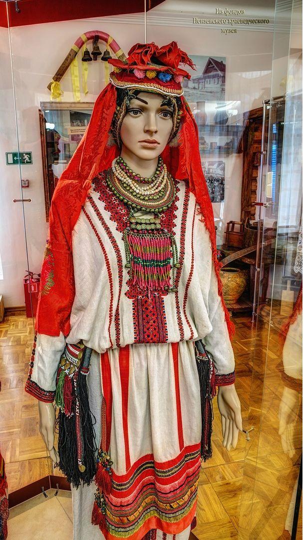 мордовский национальный костюм женский фото бровей волосковой технике