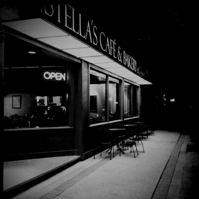 Stella's Cafe in Winnipeg - used to live around the corner from Stella's in Osborne Village - best scones ever