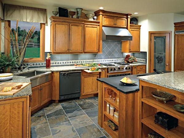 44 Best Honey Oak Cabinets And Floors Images On Pinterest