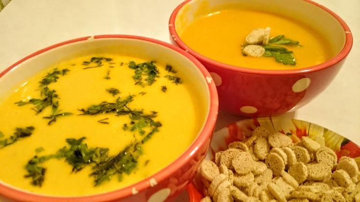 Суп пюре из тыквы рецепт Секрета ДВУХ РЕЦЕПТОВ Как приготовить тыквенный...