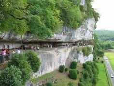 Roque Saint-Christophe, Dordogne, France - DONE 08/2013