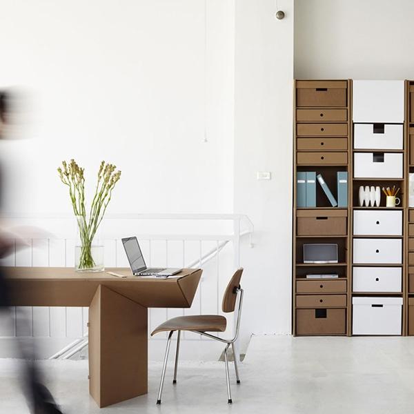 cardboard furniture never looked so good :)