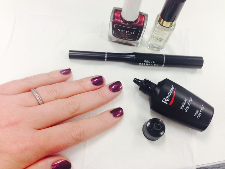 how to make your nails dry faster yahoo