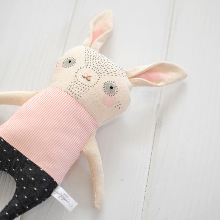 Esmé - Handcrafted Bunny Softie — Petit Pippin