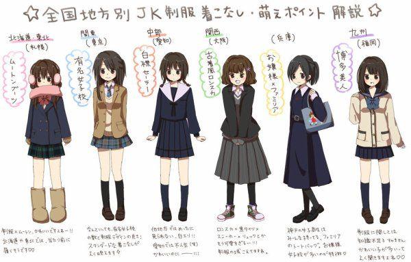 Dessiner des uniformes d'écolière - Manga Illusion