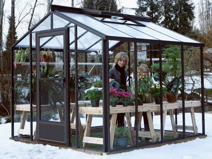 Cross Country Legacy 8X8 Greenhouse [FTR88SGTW] | Free Shipping