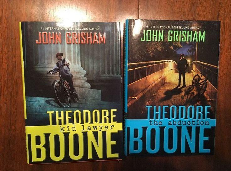 (2) John Grisham Books All Signed & First Edition