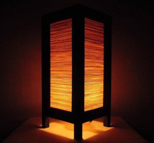 Seltene Asiatische Orientalisch Vintage Möbel Thai handgefertigt Buddha Stil Lampe Nachttische Klassiker Bambus Zuhause Schlafzimmer Dekor Wohnkultur In Thailand