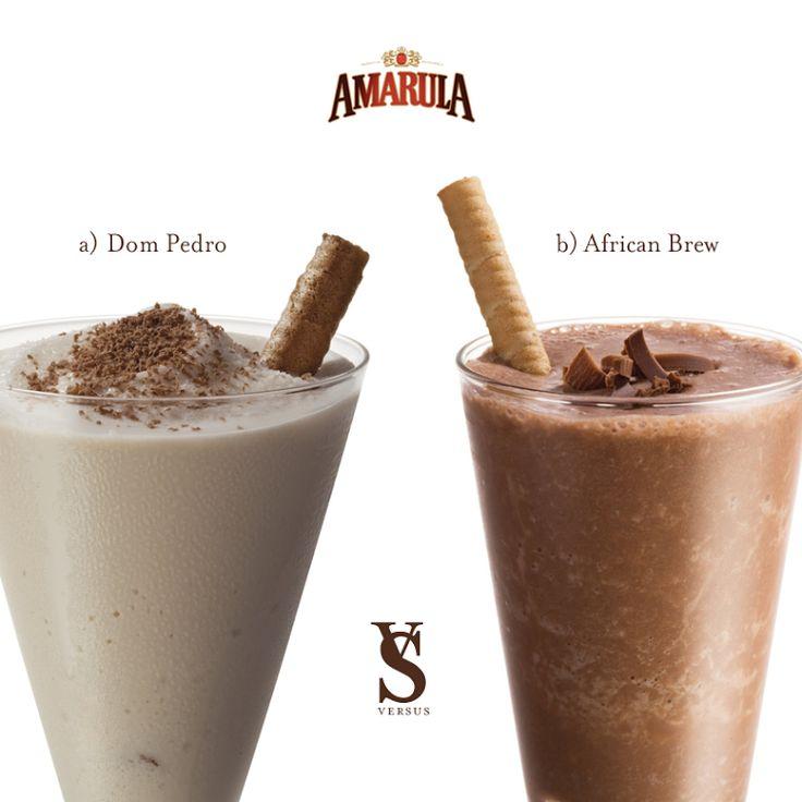 Versus Amarula Dom Pedro Vs African Brew