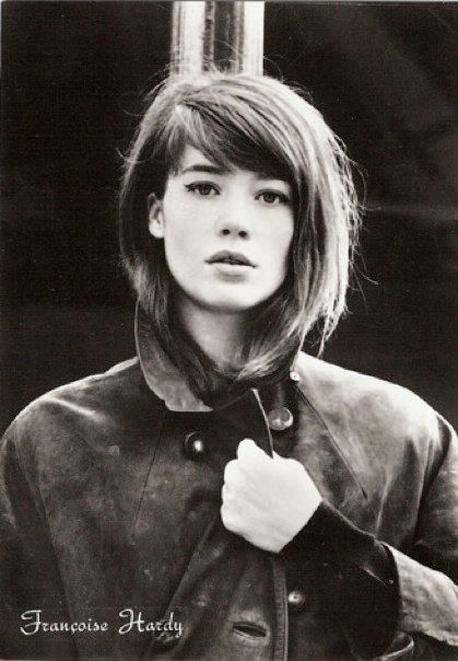 Francoise Hardy - Yes! This is the  hairdo that I was looking for!