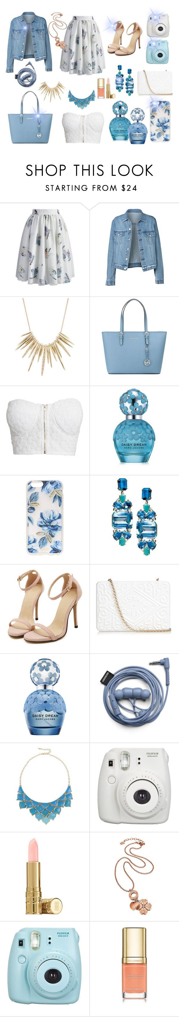 """It's spring time!"" by medusart on Polyvore featuring Chicwish, Alexis Bittar, MICHAEL Michael Kors, NLY Trend, Marc Jacobs, Sonix, Anya Hindmarch, George J. Love, Elizabeth Arden and Folli Follie"