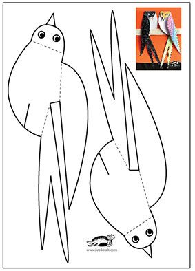 bird migration coloring pages - photo#31