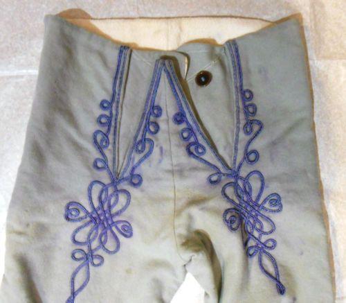 Napoleonic-era trousers, maybe Italian