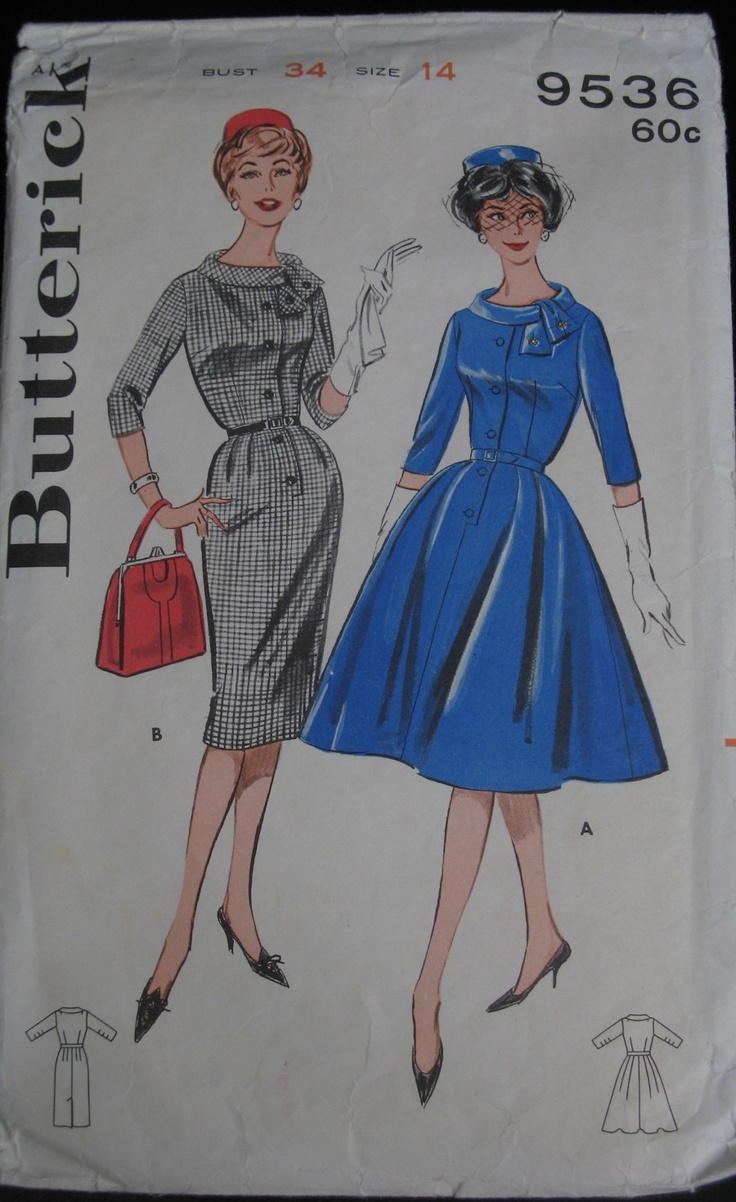 Butterick 9536 For a Jackie o look