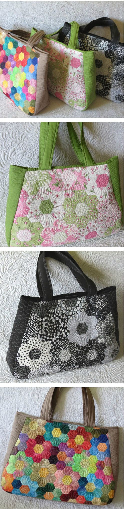 Large Quilted travel bags