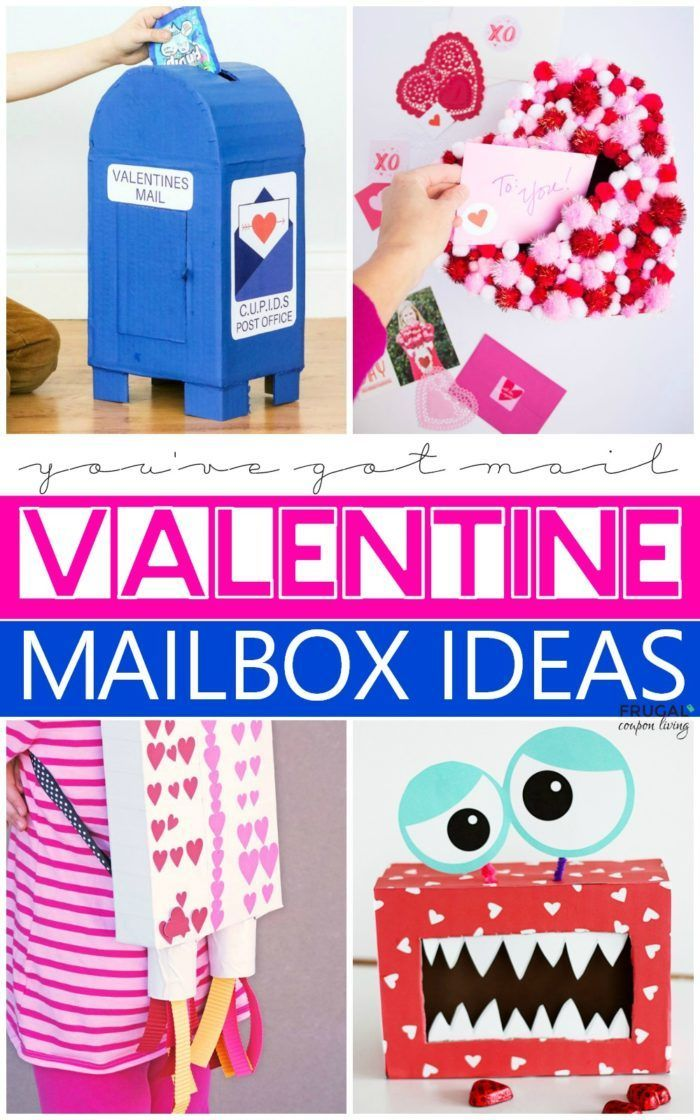 Diy Valentine Mailbox Ideas With Images Diy Valentine S