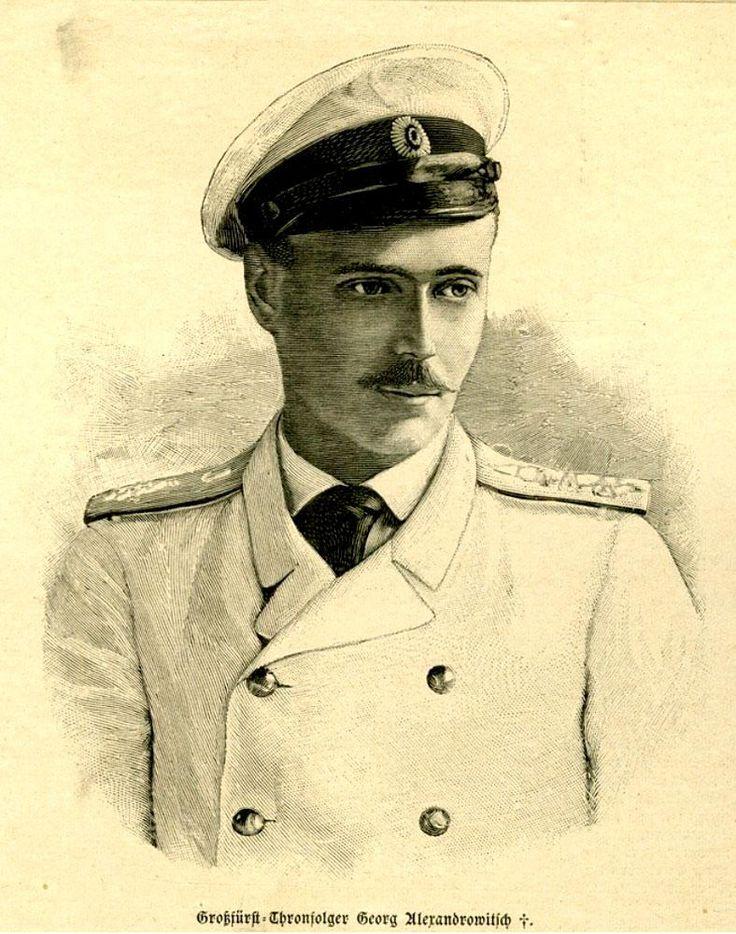"""Grand Duke Georgiy Alexandrovich Romanov of Russia. """"AL"""""""
