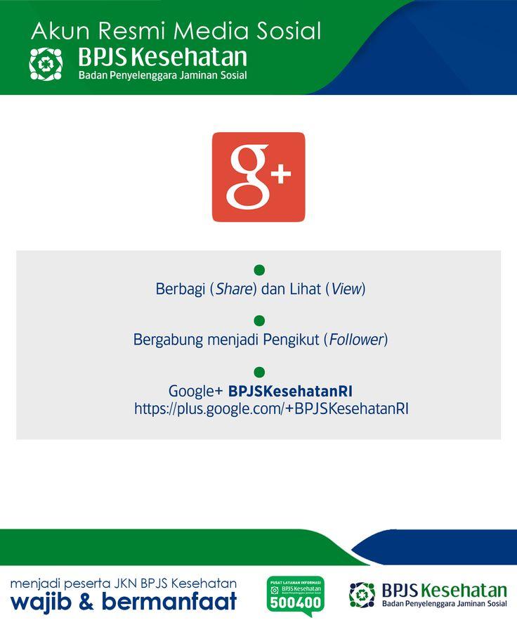 Media Sosial BPJS Kesehatan, Google+