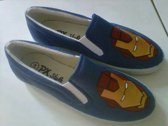 Painting shoes Iron Man Only 125k-135k