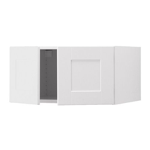 Ikea akurum top cabinet to refrigerator white del for Ikea fridge cabinet